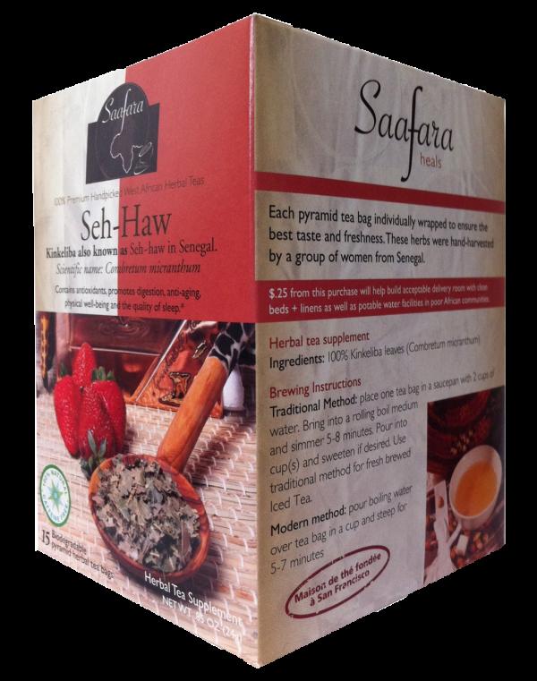 kinkeliba seh-haw combretum micranthum herbal tea saafara